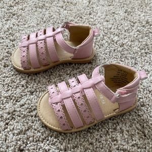 H&M baby girl gladiator sandals size 2.5-3.5